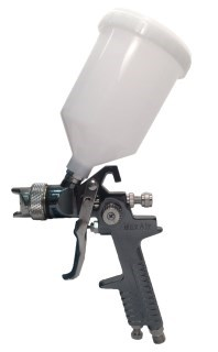 MAX AIR HVLP Gravity Feed Spray Gun with Plastic Cup