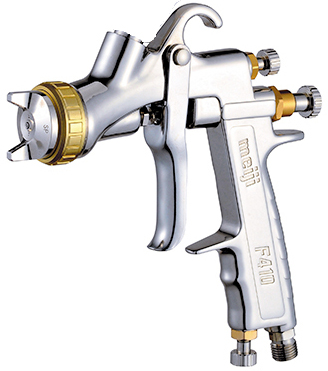 MEI-gravity-feed-hvlp-spray-gun-f410-uncupped