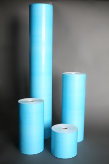 X-L-18B-blue-polycoat-masking-paper
