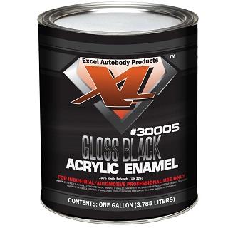 X-L-Arylic-Enamel-GlossBlack-Gallon-30005